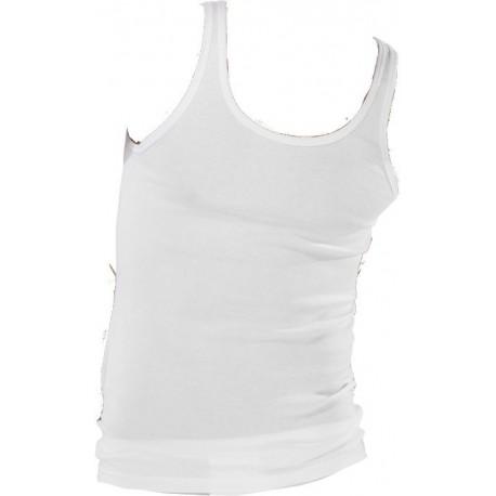 Schiesser fin rib undertrøjer - Hvide