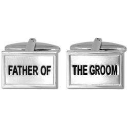 bryllups manchetknapper - far til brudgommen