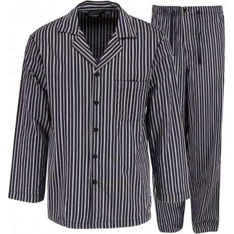 Ambassador pyjamas - Gråstribet