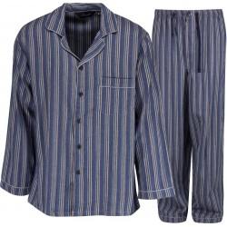 Ambassador flonels pyjamas - Blå / Grå