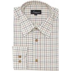 Ambassador skjorte - Tattersall