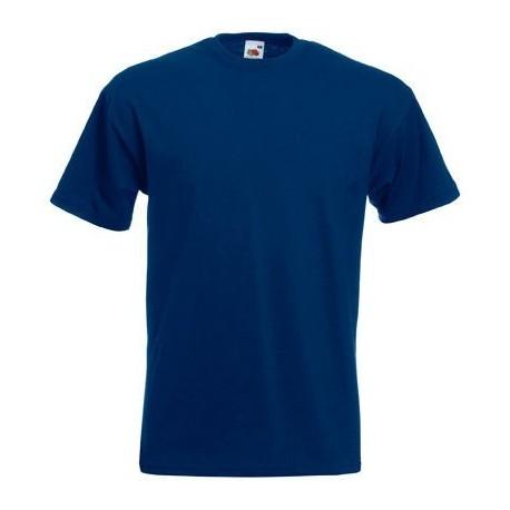 Marineblå Fruit of the loom t-shirts