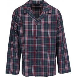Schiesser pyjamas - Stribet Grøn