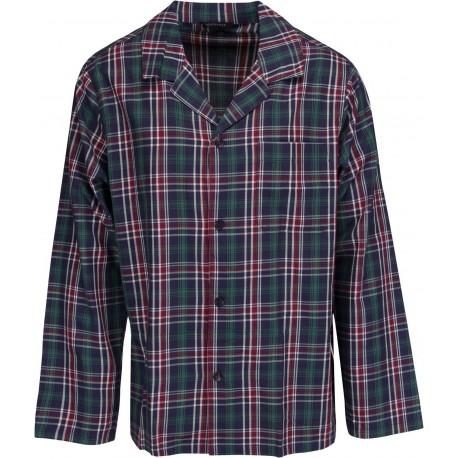 Schiesser pyjamas til mænd - Ternet Grøn