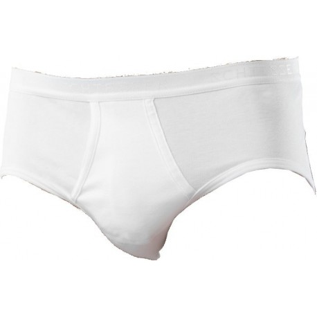 Schiesser fin rib Sports briefs - Hvide