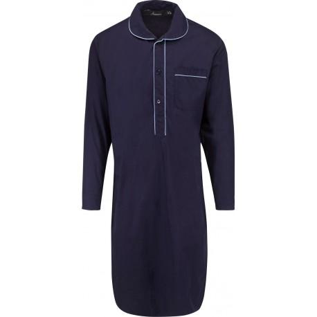 Ambassador natskjorte - Mørkeblå