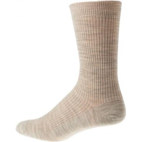 Kt Strømpen - Sokker uden elastik - Sand