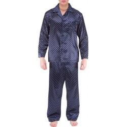 Ambassador satin pyjamas - Navy